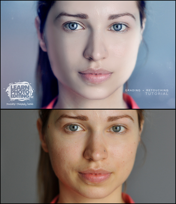 Photoshop Tutorial Retouching